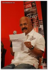 Charu Nivedita at the Outlook Speak Out Debate 2010, Chennai 3
